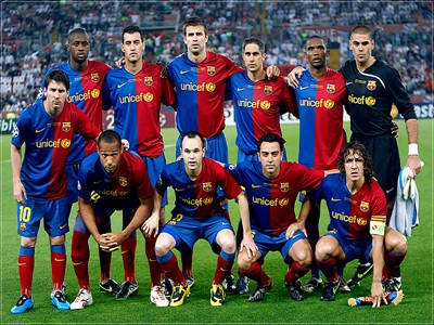 barcelona fc 2011 team photo. Free FC Barcelona Team Shot,
